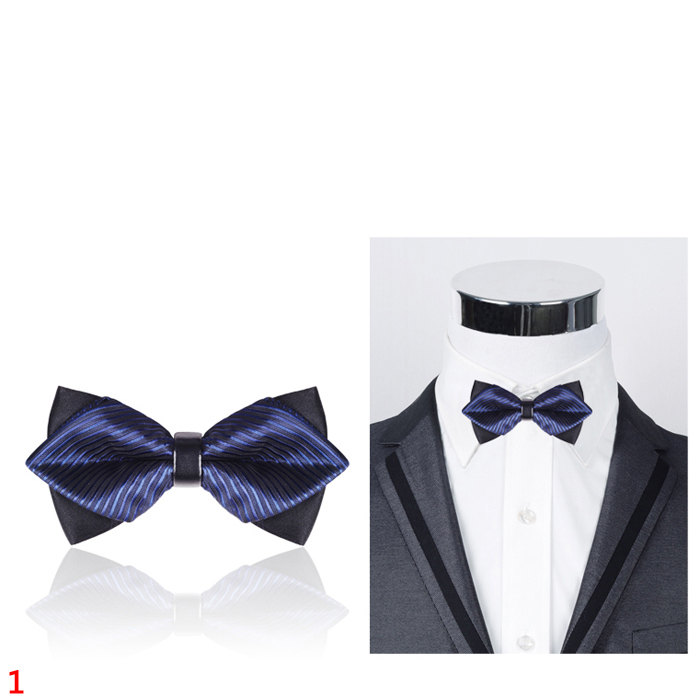 British style double pointed bow tiestriped tiemens bow tiemens british style double pointed bow tiestriped tiemens bow tiemens ccuart Gallery